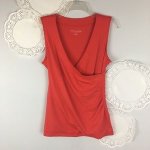 Soft Surroundings Crossover Tank Top Size Small